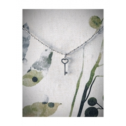 Colgante llave diseñada en plata de ley 925