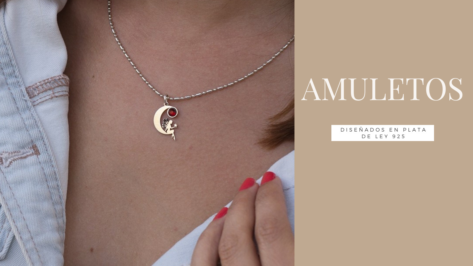 Amuletos en plata